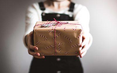 Aller chercher le cadeau de la journée